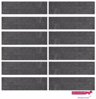 Sweatbands 12 Pack Charcoal