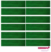 Sweatbands 12 Pack Green
