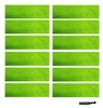 Sweatbands 12 Pack Neon Green