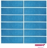 Sweatbands 12 Pack Sky Blue