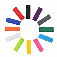 100 Sweatbands Cotton Stretch Headband Set 100