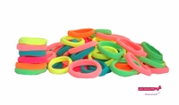 Terry Elastics 100 Pack Brights