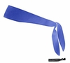 Tie Back Headband Blue