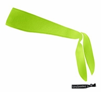 Tie Back Headband Lime