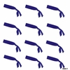 Tie Back Headband 12 Pack Navy