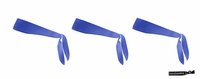Tie Back Headbands Blue 3 Pack