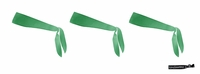Tie Back Headbands Green 3 Pack