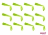 Tie Back Headbands Lime 12 Pack