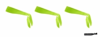 Tie Back Headbands Lime 3 Pack