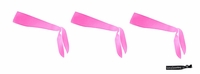 Tie Back Headbands Pink 3 Pack