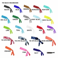 Tie Back Headbands U Pick 12 Headbands