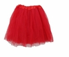 Tutu Mini Shirts for Girls - Red