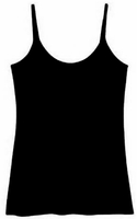 Women's Cami Tank Top - Black