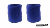 Wristbands 2 Pack Blue