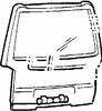 DIY Back Glass Window Mitsubishi Van Mini Van 1987-1990
