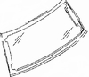 DIY Back Window Glass Mini Cooper  Hatchback 2002-2004