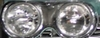 Cadillac Coupe deville 1957 1958 1959 Passenger Side Headlight