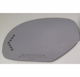 Mirror Glass Passenger Side Heated W//Backing Plate For Escalade Tahoe Silverado