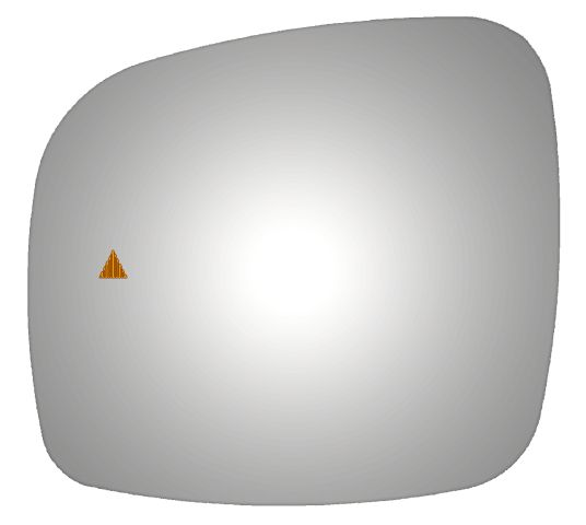 Chrysler Town Amp Country 2011 2012 2013 Driver Side Mirror