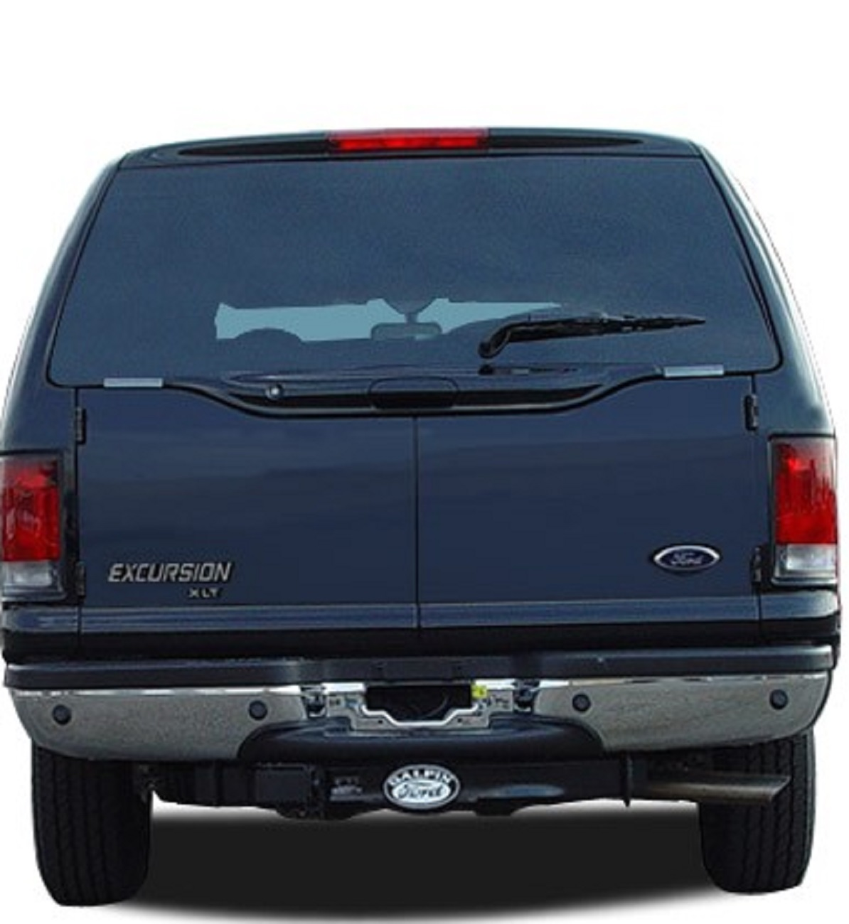 Rear Back Window Glass Ford Excursion 4 Door Utility 2000 2003