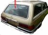 DIY Back Window Glass Mercedes 450SE 4 Door Sedan 1973-1980