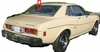 DIY Back Window Glass Toyota Celica 2 Door Coupe 1970-1977