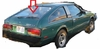 DIY Back Window Glass Toyota Celica 2 Door Coupe 1978-1981