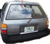 DIY Back Window Glass Toyota Corolla 4 Door Station Wagon 1988-1992