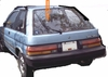 DIY Back Window Glass Toyota Tercel 2 Door Hatchback 1983-1986