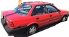DIY Back Window Glass Toyota Tercel 4 Door Hatchback 1987-1989