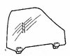DIY Front Door Glass Passenger Side Acura Legend 4Door Sedan 1986-1995