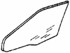 DIY Front Door Glass Pssngr Cadillac Fleetwood Limousine 1985-1987