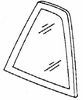 DIY Quarter Glass Driver Side Buick Regal 2 Door Coupe 1988-1992