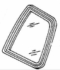 DIY Quarter Glass Driver Side Buick Skylark 2 Door Coupe 1988-1991