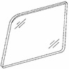 DIY Rear Quarter Glass Driver Side Ford Escort Station Wagon 1981-1990