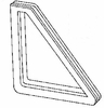 DIY Quarter Glass Passenger Side Ford Escort 2 Door Coupe 1981-1988