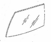 DIY Rear Door Glass Driver Side Buick Century 4 Door Sedan 1986-1988
