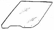 DIY Rear Door Glass Driver Side Buick Skyhawk Station Wagon 1982-1989