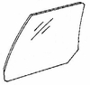 DIY Rear Door Glass Driver Side Buick Skylark 4 Door Sedan 1986-1991