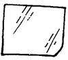 DIY Rear Door Glass Driver Side Chrysler Town & Country 1978-1981