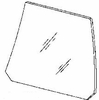 DIY Rear Door Glass Driver Side Ford Escort Station Wagon 1983-1990