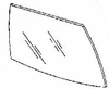 DIY Rear Door Glass Passenger Side Buick Century Sedan 1986-1988
