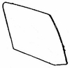 DIY Rear Door Glass Passenger Side Buick Skylark Sedan 1975-1979
