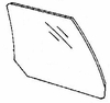 DIY Rear Door Glass Passenger Side Buick Skylark Sedan 1986-1991