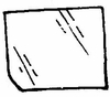 DIY Rear Door Glass Passenger Side Chrysler Town & Country 1978-1981