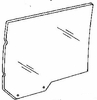 DIY Rear Door Glass Passenger Side Ford Crown Victoria Sedan 1983-1991