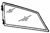 DIY Rear Quarter Glass Passenger Side Honda Civic Hatchback 1984-1987