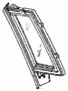 DIY Rear Vent Glass Driver Side Buick Regal 4 Door Station Wagon 1982 1983