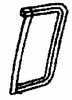 DIY Rear Vent Glass Driver Side Cadillac Deville  Sedan 1985 - 1988