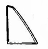 DIY Rear Vent Glass Driver Side Honda Accord 4 Door Sedan 1979-1981